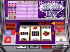 Progressive Diamond Jackpot Slots